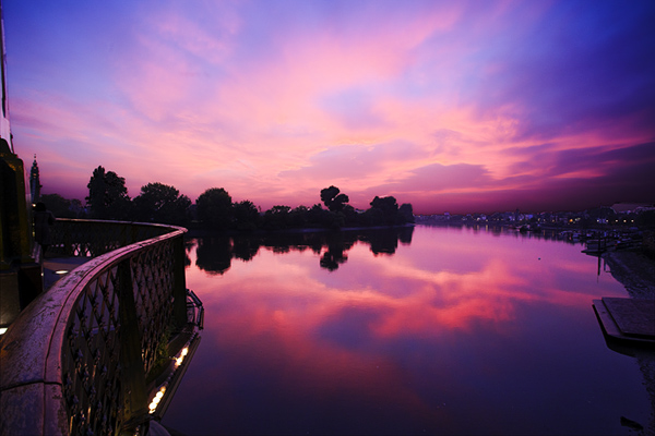 London Hammersmith Riverside Twilight