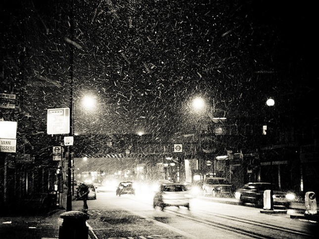 London Goldhawk Road (Snow)