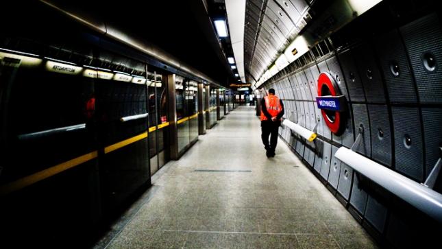London Westminster Tube Station