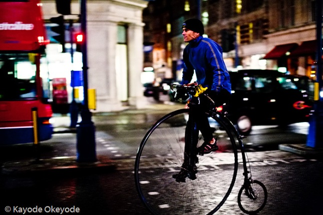 Day 333:  Penny-farthing and the Urban Warfare