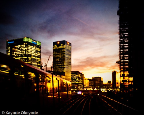 Docklands Light Railway Train Ride (2)