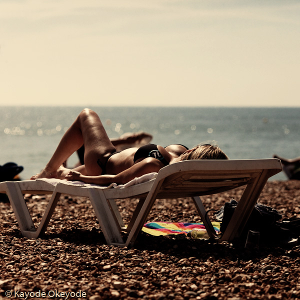 Brighton Sunbather 1