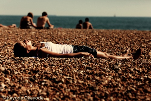 Brighton Sunbather 2