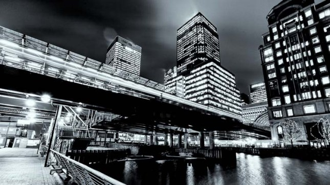 West India Quay and DLR