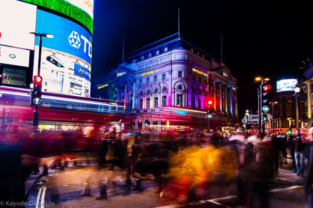 Piccadilly Xmas Rush